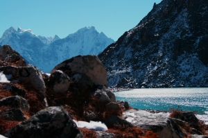 Second Sacred Lake in the Gokyo Valley