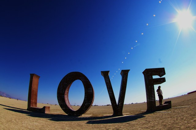 love, burning man, fun friday, smiles