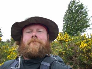 Rev Kane goin native in the Scottish Highlands