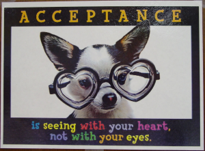 acceptance, acceptance is the way, happiness, Be happy