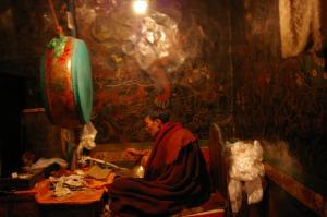 monk values buddhism