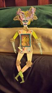 An altar doll made for me by my wonderful friend Lisa