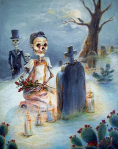 My favorite DOTD painting by my favorite artist Heather Calderon