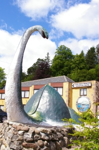Drumnadrochit, home of 2 Loch Ness Monster Museums