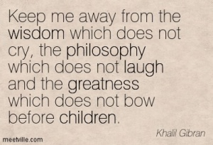 happiness children gibran