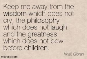 happiness children gibran