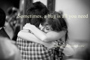 happiness, hugs