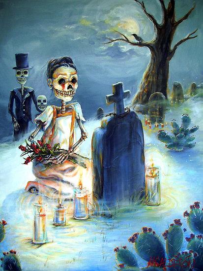 happiness, dias de los muertos