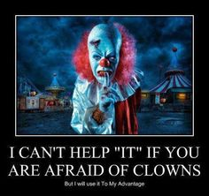 happiness, clowns