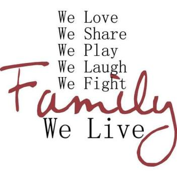 happiness, family
