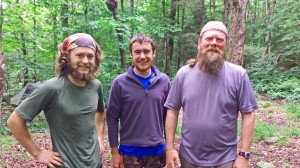 Reuniting in VT with hikers I met on the first day.