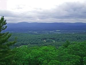 View across the Berkshires