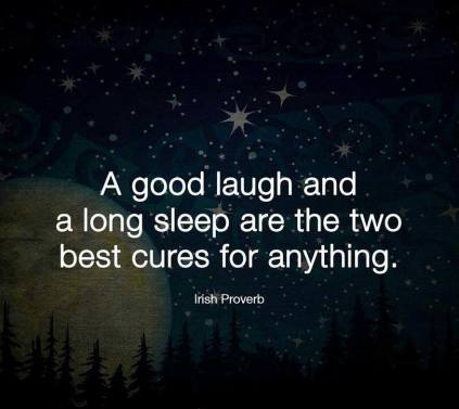 happiness, sleep, laugh
