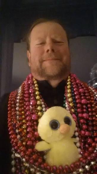 Rev Kane at Mardi Gras in Mobile, AL