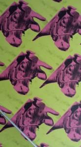 andy warhol cows
