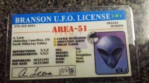 alien license