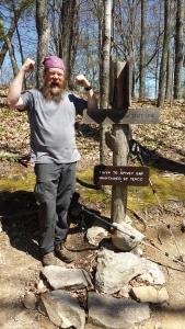 be happy, hiking, appalachian trail, tennessee