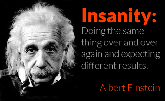 change einstein quote