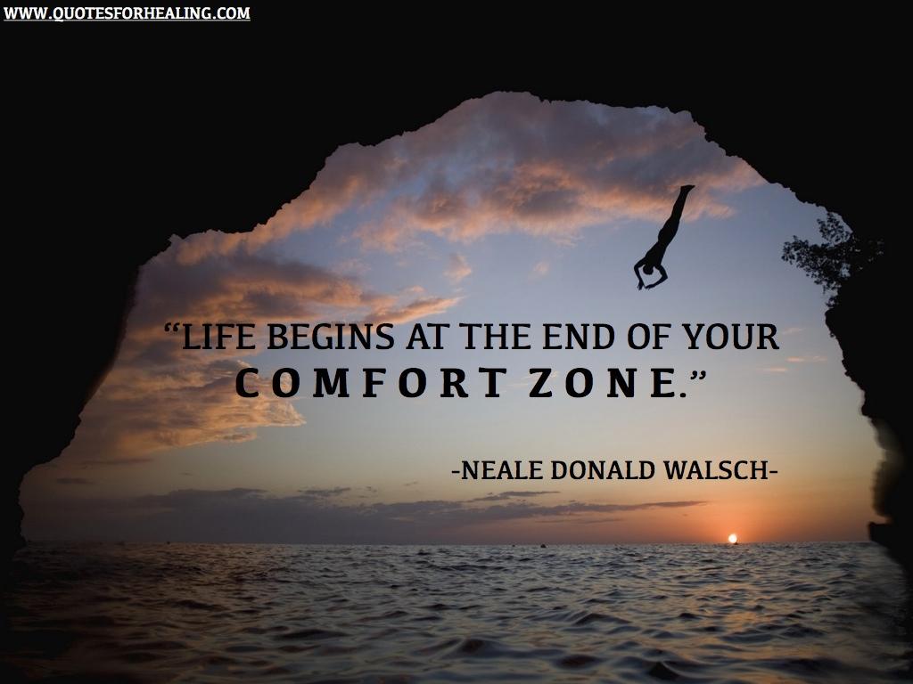 be happy, comfort zone