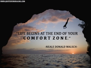 be happy, comfort zone