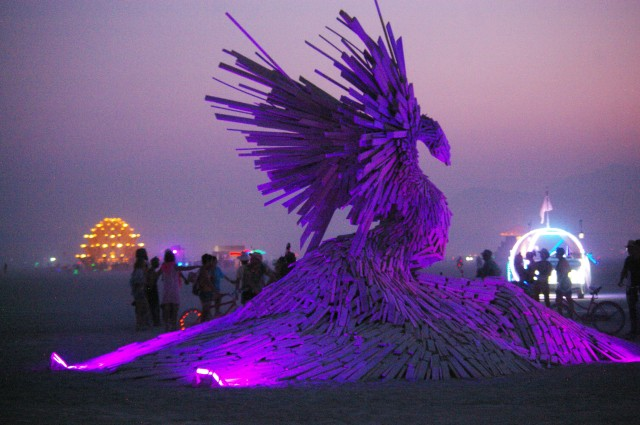 Art, burning man