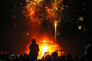 burning man, photography
