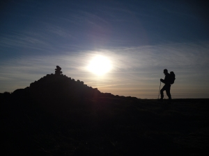 hiking, walking, happiness
