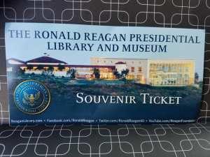 reagan, president, travel
