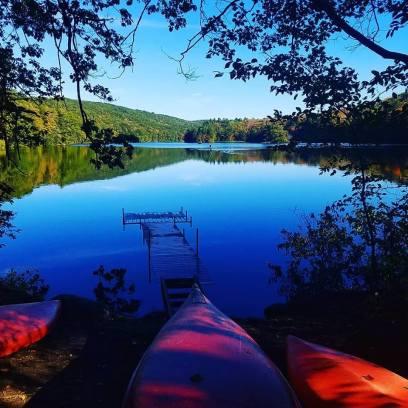 lake fall photography
