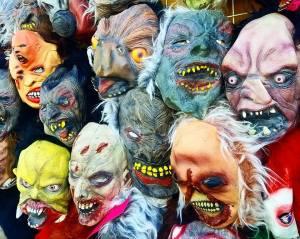 halloween, mask, travel