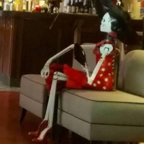 skeleton restaurant