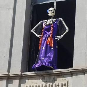 skeleton attitude