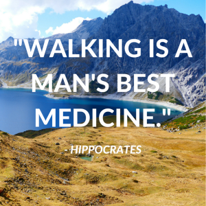 walking, hiking, quote