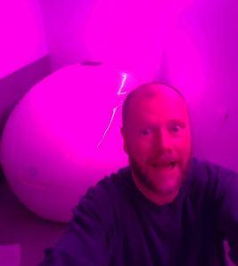 sensory deprivation tank float