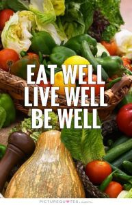 health, food, quote