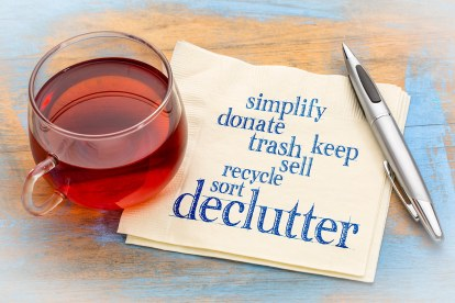 declutter, happiness