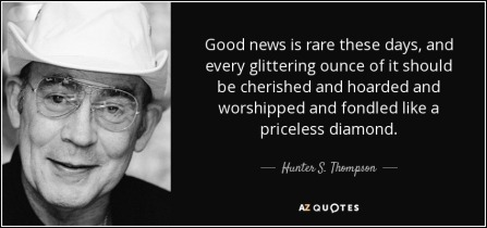 HST good news quote