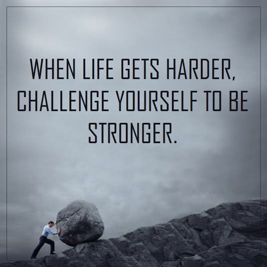 challenge, quote